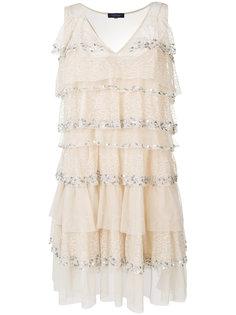 многослойное платье шифт  Twin-Set