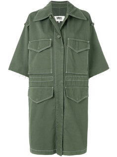 shortsleeved cargo coat  Mm6 Maison Margiela