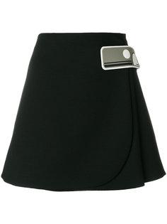 мини-юбка А-силуэта Prada