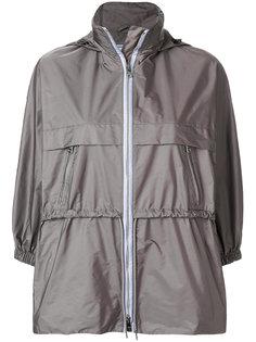 нейлоновая куртка с воротником-воронкой Prada
