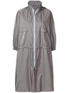 куртка с воротником-воронкой Prada