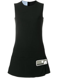 мини-платье шифт Prada