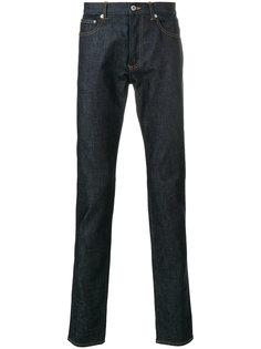 джинсы кроя слим с заплатками  Givenchy
