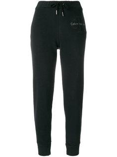 зауженные спортивные брюки Calvin Klein