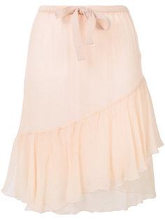 асимметричная юбка  See By Chloé