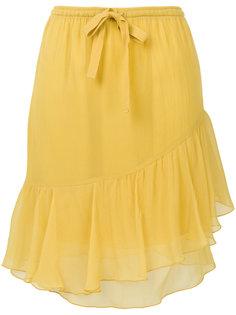 асимметричная юбка с рюшами See By Chloé