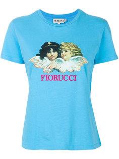 футболка с ангелом Fiorucci
