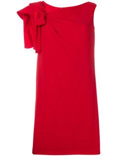платье-шифт с бантом Max Mara