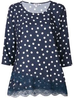 блузка с узором в горох Liu Jo