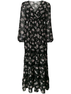 платье макси с цветочным принтом Liu Jo