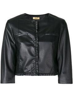 укороченная байкерская куртка Liu Jo