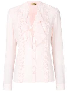 блузка с оборками Liu Jo