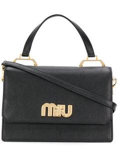сумка на плечо с верхней ручкой Miu Miu
