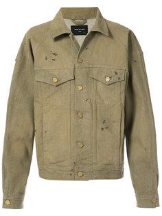 джинсовая куртка с потертой отделкой Fear Of God