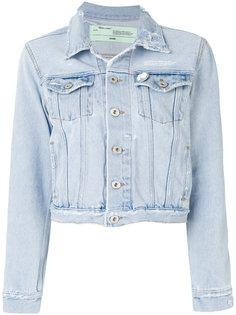 укороченная джинсовая куртка  Off-White