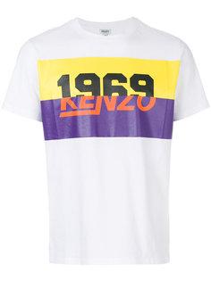 футболка с принтом 1969 Kenzo