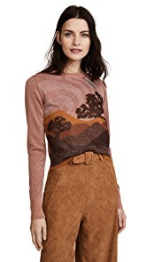 Coach 1941 Landscape Crew Neck Sweater