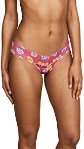 Hanky Panky Sweet Hearts Low Rise Thong
