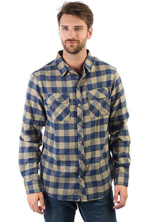 Рубашка в клетку Billabong All Day Flannel Ls Light Khaki