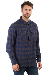 Рубашка в клетку Billabong All Day Flannel Ls Deep Blue