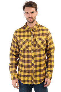 Рубашка в клетку Billabong All Day Flannel Ls (bright Gold