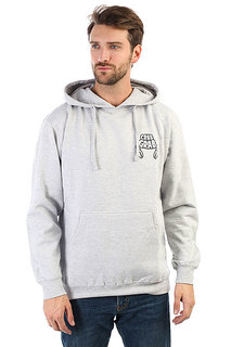 Толстовка кенгуру Crabgrab Worlds Best Hoody Athletic Grey