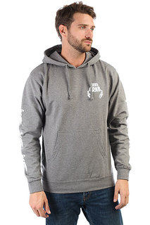 Толстовка кенгуру Crabgrab Claw Sleeves Hoody Heather Grey
