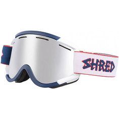 Маска для сноуборда Shred Nastify Le Pintu Platinum Navy Blue/White