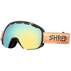 Маска для сноуборда Shred Smartefy Shnerdwood Tortoise/Wood