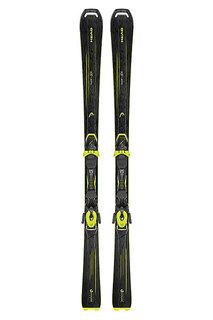 Горные лыжи Head Super Joy Slr Black/Neon Yellow