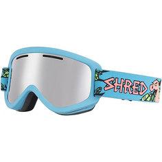 Маска для сноуборда Shred Wonderfy Dragosaurus Platinum Neon Blue