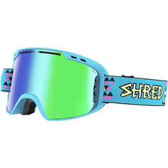 Маска для сноуборда Shred Amazify Neon Blue