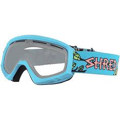Маска для сноуборда Shred Mini Dragosaurus Neon Blue