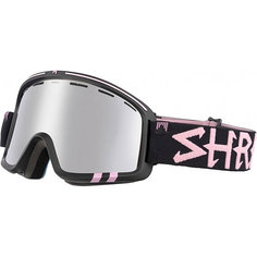 Маска для сноуборда Shred Monocle Platinum Black
