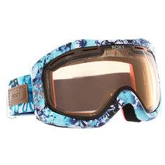 Маска для сноуборда женская Roxy Sunset Art Aruba Blue kaleidos