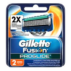 GILLETTE Сменные кассеты Fusion ProGlide 2 шт.