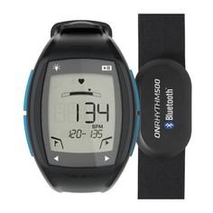 Часы-кардиометр Onrhythm 500 С Кардиопоясом Bluetooth - Голубые Geonaute