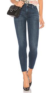 Укороченные джинсы с бахромой noah - Black Orchid