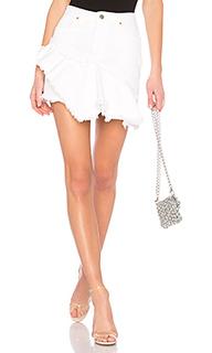 Юбка с рюшами skirt - GRLFRND