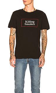 Футболка killing smokes - Ksubi