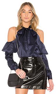 Блуза с открытыми плечами tie neck - LAcademie
