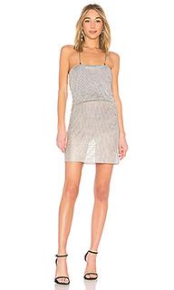 Платье с жатой талией 654 - LPA