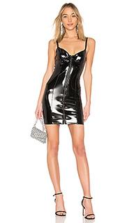Кожаное мини-платье 651 - LPA
