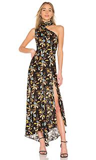 Макси платье ava floral - NICHOLAS