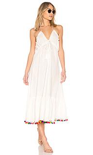 Платье миди с американской проймой cecily - Tularosa
