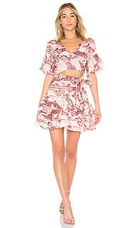 Платье с запахом - Zimmermann