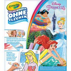"""Раскраска Color Wonder """"Принцессы"""" Crayola"""