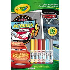"""Раскраска по номерам """"Тачки 3"""" Crayola"""