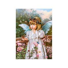 Пазл Ангел с бабочкой, 180 деталей, Castorland