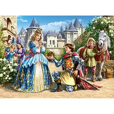 Пазл Принцесса и рыцарь, 300 деталей, Castor Land Castorland